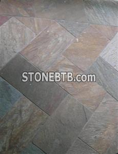 Quartzite floor tile