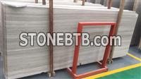 White Wooden Marble Big Slab