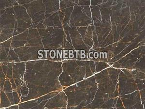Honed China brown marble