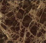 Brown imported marble