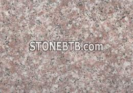 Flamed pink stones