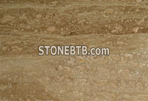 Iran brown travertine