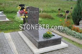Brown monument stone