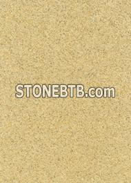Yellow polished sandstone