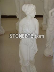 Marble carved sculpture