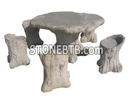 Stone table set