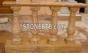 Yellow baluster