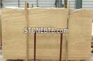 Marble yellow slab