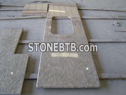 Granite yellow countertop