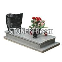 European white gravestone