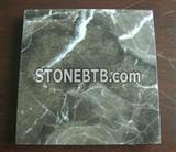 Brown cut marble