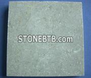 Polished beige stone