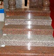 Granite indoor step