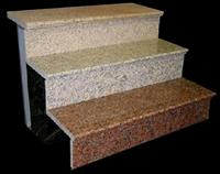 Granite step tread
