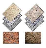 Granite floor paving