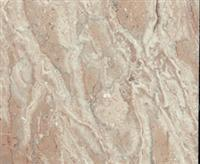 Polished pattern marble