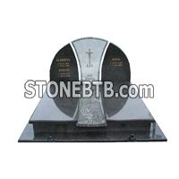 Black funeral monuments