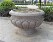 Granite flower planter