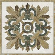 Marble mosaic picture