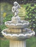 Garden fountain ball