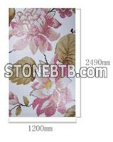 Flower and Leaf Pattern Mosaic