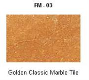 Golden Classic Marble Tile