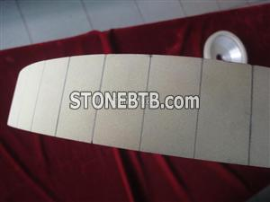 Vitrified diamond wheel for PDC cutter rough grinding