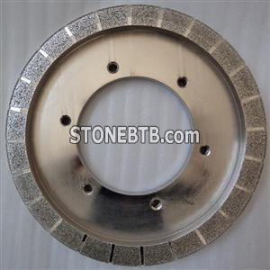 Electroplated Diamond Grinding Wheel for marble, Electroplated cutting wheel