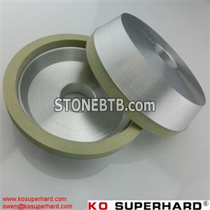 vitrified bond diamond grinding wheels for machining PCD&PCBN tools, grinding wheel for pcd