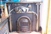 Iron Cast Fireplace