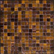 Marrone Mix Glass Mosaics
