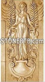stone carving relief