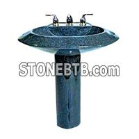 sink basin with base