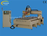 Round type automatic tool changing cnc router