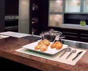 Countertop in Juparana Bordeaux Polished