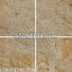 Shandong Honed Desert-gold quartzite