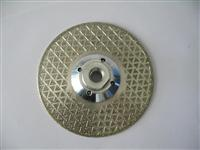 Continuous Rim Electroplated Diamond Blade