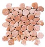 Aegean Pebbles Red Travertine