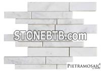 Random Carrara Extra Polished Mosaic
