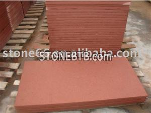 China Red Sandstone Tiles