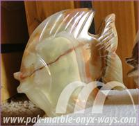 FISH ONYX SCULPTURE