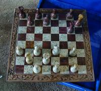CHESS SET ONYX