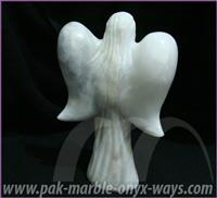 FAIRY SCULPTURE MARBLE