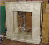 FIREPLACE ONYX CARVED