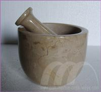 MORTAR AND PESTLES MARBLE STONE