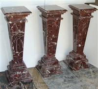 PEDESTAL TAPER STYLE MARBLE CRAFT