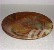 PLATES MARBLE CARVED