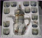 TEA SET ONYX AND MARBLE