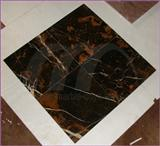 TILES BLACK AND GOLD MARBLE