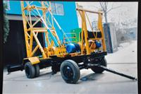 trailer mounted drilling rig